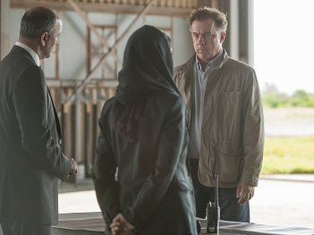 Homeland: l'attore Michael O'Keefe in una scena dell'episodio There's Something Else Going On