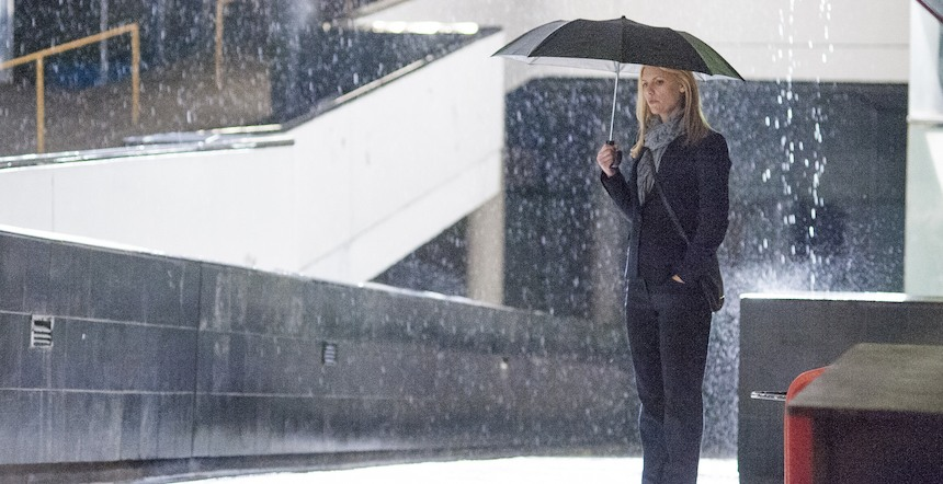 Homeland: l'attrice Claire Danes nella puntata intitolata There's Something Else Going On