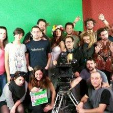 Shangri-La: una foto di gruppo sul set della serie