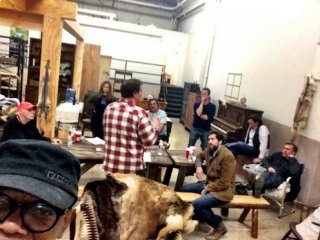 The Hateful Eight: Samuel L. Jackson svela su Twitter una foto del backstage