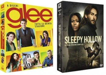 Le cover homevideo di Glee e Sleepy Hollow