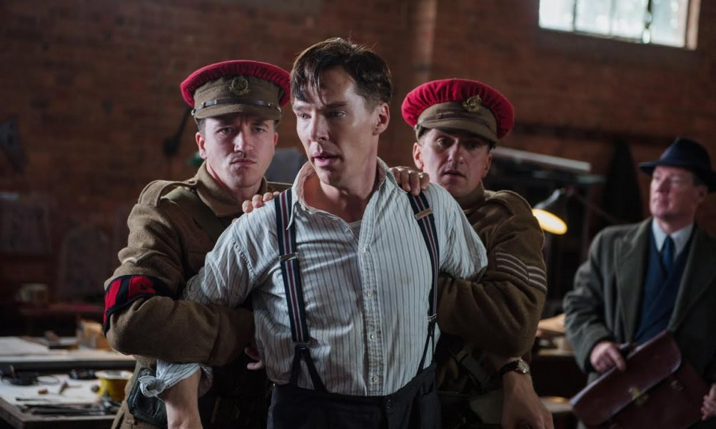 The Imitation Game: una drammatica scena con Benedict Cumberbatch
