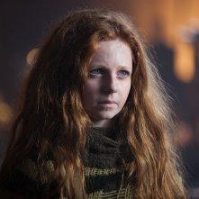 Gotham: Clare Foley in una scena dell'episodio LoveCraft