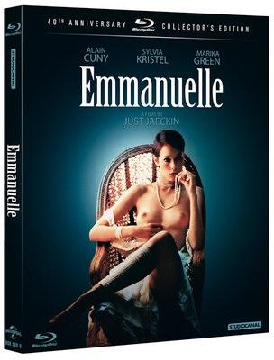 La cover del blu-ray di Emmanuelle - 40° anniversario