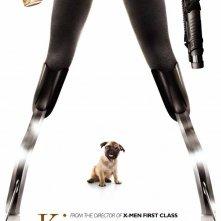 Kingsman: Secret Service - Il character poster con... un carlino