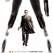 Kingsman: Secret Service - Il character poster con Colin Firth
