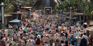 Jurassic World: i visitatori del parco