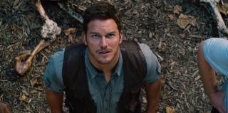 Jurassic World: il protagonista Chris Pratt