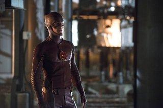 The Flash: l'attore Grant Gustin interpreta Barry Allen nella puntata Power Outage