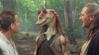 Star Wars: Episode I - Jar Jar Binks con i cavalieri Jedi