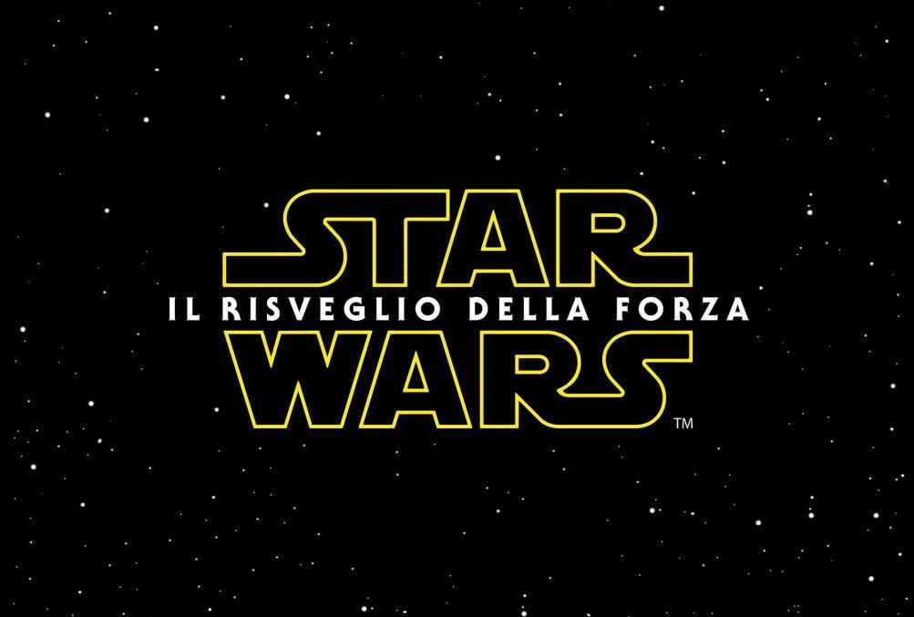Star Wars: il risveglio della forza - logo italiano