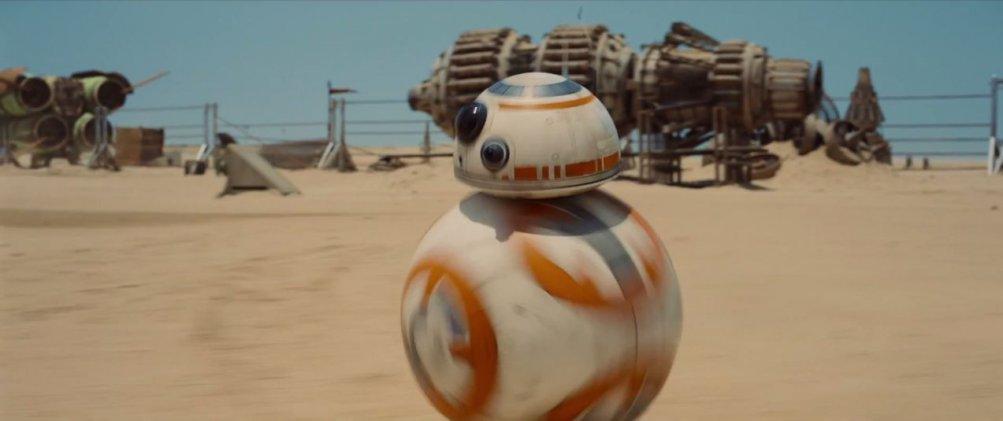 Star Wars: Il risveglio della forza - un droide dal trailer
