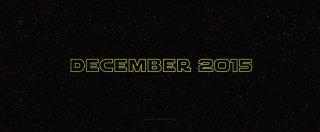 Star Wars: Il risveglio della forza - il trailer
