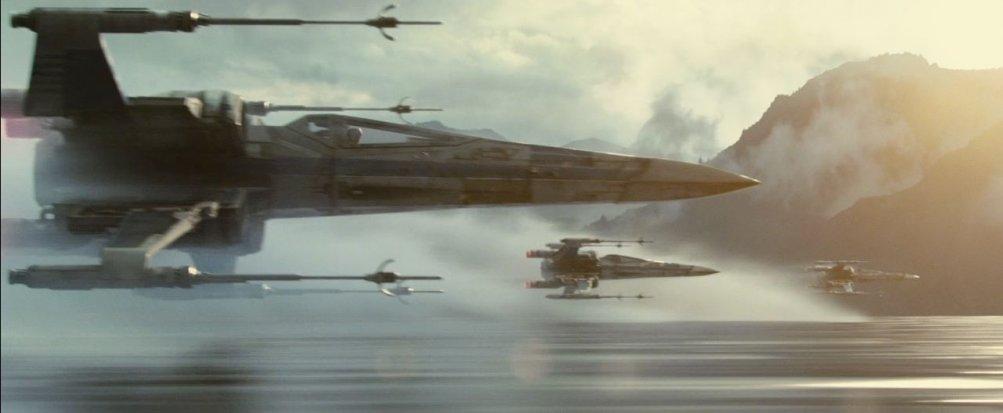 Star Wars: Il risveglio della forza - gli X-Wing in un'immagine dal trailer