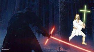 Star Wars il risveglio della forza: vignetta sulla spada