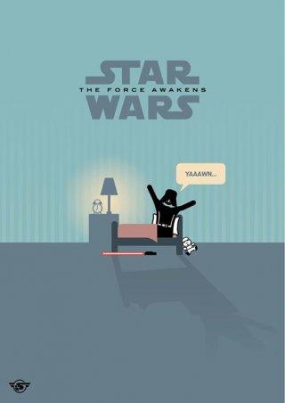 Star Wars - vignetta sul risveglio della forza