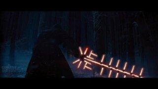 Star Wars - il risveglio della forza: vignetta sulla spada