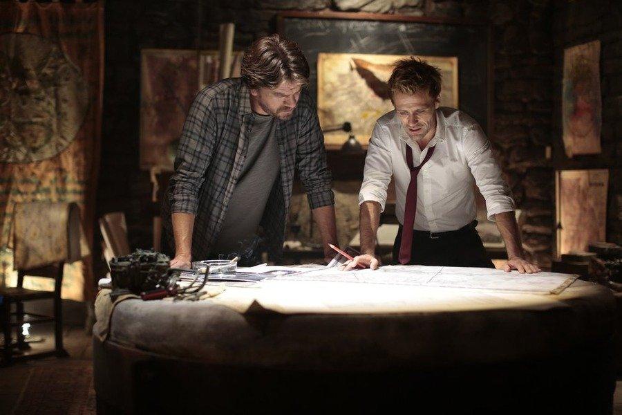 Constantine: Charles Halford e Matt Ryan nella puntata intitolata Rage of Caliban