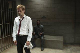 Constantine: Matt Ryan e Hardold Perrineau in Rage of Caliban