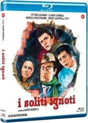 La cover del blu-ray di I soliti ignoti