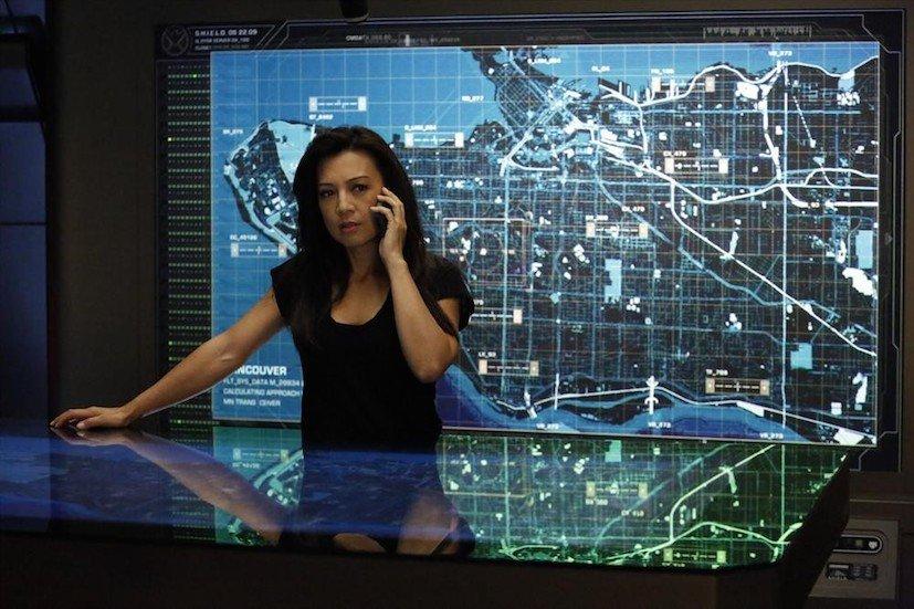 Agents of S.H.I.E.L.D.: l'attrice Ming-Na Wen in una scena dell'episodio Ye Who Enter Here