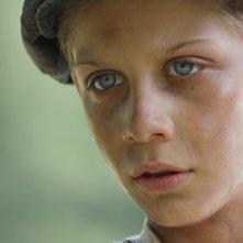 La storia di Cino: Stefano Marseglia nel ruolo di Cino in un primo piano tratto dal film