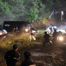 La Metamorfosi del Male: Brian Scott O'Connor braccato dalla polizia in una scena del film