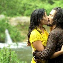 The Perfect Husband: Gabriella Wright e Bret Roberts in una scena del film di Lucas Pavetto