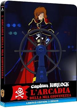 La cover del blu-ray di Capitan Harlock - L'arcadia della mia giovinezza