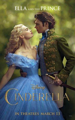 Cenerentola: Lily James e Richard Madden nel poster