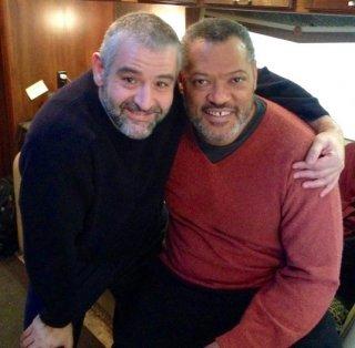 Hannibal, terza stagione - Fortunato Cerlino con Laurence Fishburne