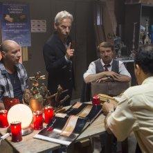Il ricco, il povero e il maggiordomo: Aldo, Giovanni e Giacomo in un momento del film
