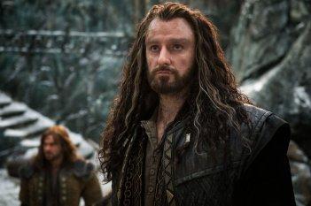 Lo Hobbit: La Battaglia delle Cinque Armate, Richard Armitage in una scena