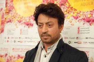 Un bel primo piano di Irrfan Khan, ospite a Firenze del River to River Film Festival