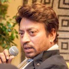 Irrfan Khan a Firenze durante la conferenza del River to River Film Festival