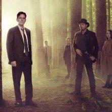 Wayward Pines: il cast in un'immagine promozionale per la serie