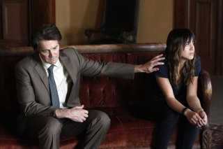 Agents of S.H.I.E.L.D.: Kyle MacLachlan e Chloe Bennet in una scena dell'episodio What They Become