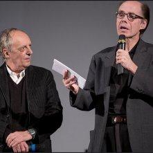 Dario Argento al Courmayeur Noir in Fest 2014 insieme a Jeffery Deaver