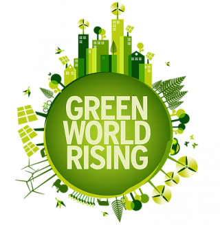 Think Forward 2014: il logo del progetto Green World Rising