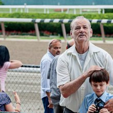 St. Vincent: Bill Murray e Jaeden Lieberher all'ippodromo in una scena