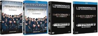le cover homevideo de I Mercenari 3 - The Expendables