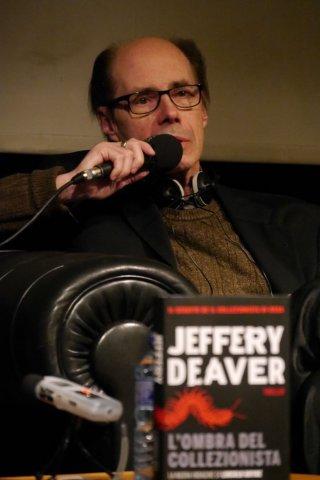 Jeffery Deaver presenta L'ombra del collezionista al Courmayeur in Noir