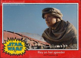 Star Wars: Il risveglio della forza - Daisy Riley è Rey