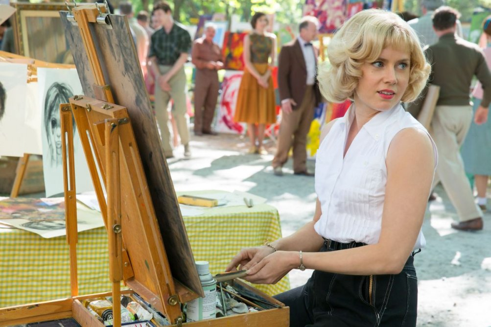 Big Eyes: Amy Adams in un momento del film