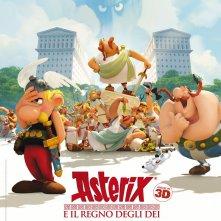 Locandina di Asterix e il Regno degli Dei