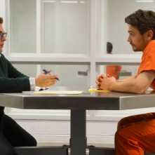 True Story: James Franco e Jonah Hill nel parlatorio del carcere
