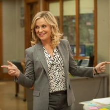Amy Poehler in un episodio della sesta stagione di Parks and Recreation