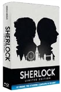 La cover homevideo di Sherlock - Stagioni 1-3
