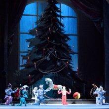 Il Balletto del Bolshoi di Mosca: Lo Schiaccianoci, un'immagine della pièce in diretta dal Bolshoi di Mosca