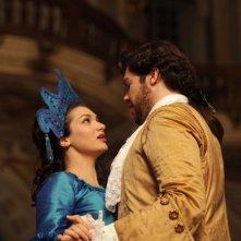 Cenerentola: Lena Belkina con Edgardo Rocha in una scena dell'evento cinematografico diretto da Carlo Verdone
